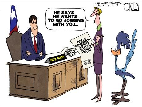 Political Cartoon by Steve Kelley