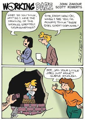 Political Cartoons by  Working Daze
