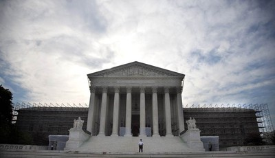 In this June 25, 2012, photo, the Supreme Court in Washington. Corporations and labor unions have been emboldened this election season to spend unlimited sums of cash. The Supreme Court