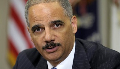 FILE - In this July 26, 2012 file photo, Attorney General Eric Holder speaks in the Cabinet Room of the White House in Washington. The Republican-run House has asked a federal court to