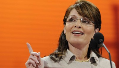 FILE - In this Sept. 3, 2008, file photo, Republican vice presidential candidate, Alaska Gov. Sarah Palin, speaks during the Republican National Convention in St. Paul, Minn. Republican