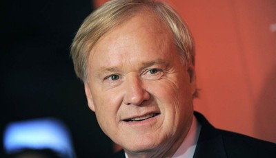This May 5, 2009 photo shows Chris Matthews arriving at the Time 100 Gala, in New York.  In the cable television news world where provocation is prized, MSNBC