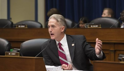 Rep. Trey Gowdy, R-SC, questions Inspector General Michael Horowitz, the Justice Department