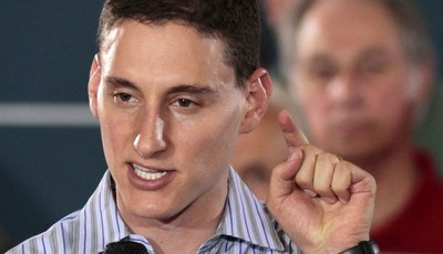 FILE - In this Sept. 1, 2012 file photo, Ohio Republican Senate candidate Josh Mandel speaks at a campaign rally in Cincinnati. Friends of coal are certain they know the enemy. They poi