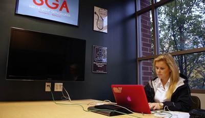 Caroline Winsett, a senior at DePaul University who is president of the school