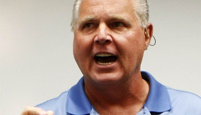 FILE - In this Jan. 1, 2010 file photo, conservative talk show host Rush Limbaugh speaks during a news conference in Honolulu. Director Betty Thomas said John Cusack
