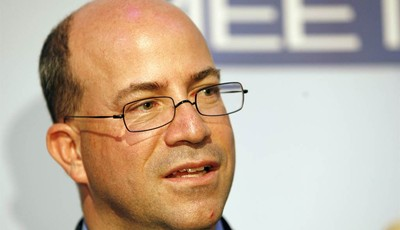 FILE - In this Wednesday, Nov. 14, 2007, file photo, Jeff Zucker, President and Chief Executive Officer of NBC Universal, is seen at the 60th anniversary celebration of NBC