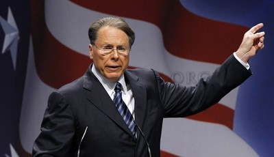 FILE - In this Feb. 10, 2011, file photo, National Rifle Association Executive Vice President and CEO Wayne LaPierre speaks in Washington. The next big issue in the national debate over