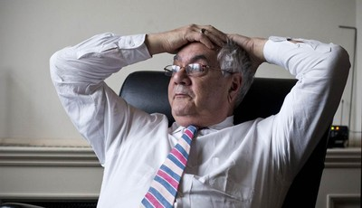 In this photo taken Dec. 12, 2012, Rep. Barney Frank, D-Mass., the nation