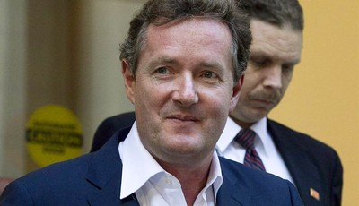 FILE - In this Dec. 20, 2011 file photo, Piers Morgan, host of CNN