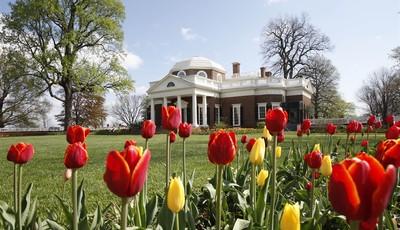 FILE- This April 22, 2009, file photo, shows former President Thomas Jefferson