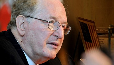 FILE - In this Jan. 11, 2013 file photo, Senate Commerce, Science and Transportation Committee Chairman Sen. Jay Rockefeller, D-W.Va. speaks in Charleston, W.Va. Online privacy rules ar