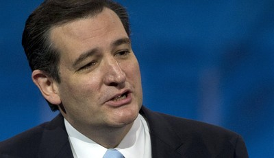 FILE - In this March 16, 2013 file photo, Sen. Ted Cruz, R-Texas speaks in National Harbor, Md. Mere months after the 2012 election, South Carolina is a buzz of political activity with