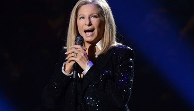 FILE - This Oct. 11, 2012 file photo shows singer Barbra Streisand performing at the Barclays Center in the Brooklyn borough of  New York. A Barbara Streisand concert, Shakespearean dra