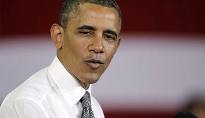 FILE - In this Friday, May 17, 2013, file photo, President Barack Obama speaks at Ellicott Dredges in Baltimore. President Barack Obama is delivering the commencement address at Morehou