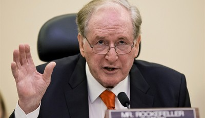Senate Commerce Committee Chairman Sen. John D. Rockefeller, D-W.Va., questions Chicago billionaire business executive Penny Pritzker, President Obama