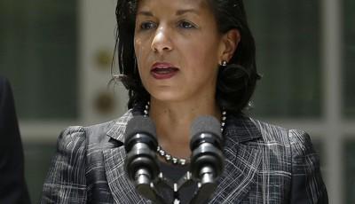 United Nations Ambassador Susan Rice, President Barack Obama