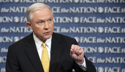In this Sunday, June 23, 2013, photo provided by CBS News Senate Judiciary Committee member, Sen. Jeff Sessions, R-Ala., an outspoken critic of the currently proposed immigration reform