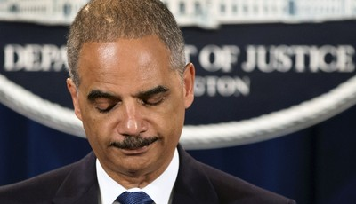 Attorney General Eric Holder expresses disappointment in the Supreme Court