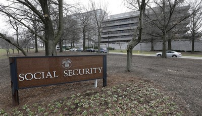 FILE - This Jan. 11, 2013 file photo shows the Social Security Administration