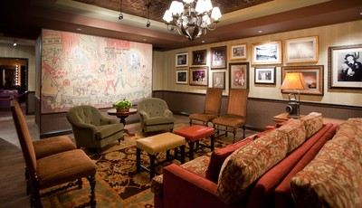 In this image made available by the Grand Ole Opry in Nashville. TN.,  shows the Green Room on Oct. 28, 2010. The room is also referred to as the family room where the artists