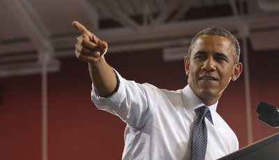 President Barack Obama speaks at the University of Central Missouri in  Warrensburg, Mo., Wednesday, July 24, 2013. Obama hit the road to deliver remarks in Illinois and Missouri kickin