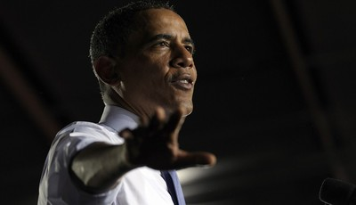 President Barack Obama speaks at the Jacksonville Port in Jacksonville, Fla., Thursday, July 25, 2013. A day after he kicked off the tour in Illinois and Missouri, Obama was traveling T