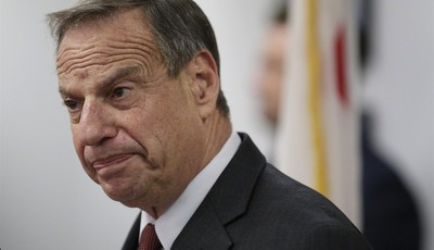San Diego Mayor Bob Filner speaks during a news conference at city hall Friday, July 26, 2013, in San Diego. Filner said Friday he will undergo therapy after less than a year in office