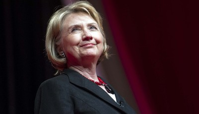 FILE - This July 16, 2013 file photo shows former Secretary of State Hillary Rodham Clinton during the 51st Delta Sigma Theta National Convention in Washington. The Republican National