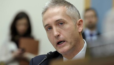 House Judiciary Committee member Rep. Trey Gowdy, R-S.C., gives his opening remarks on Capitol Hill in Washington, Tuesday, Feb. 5, 2013, during the committee