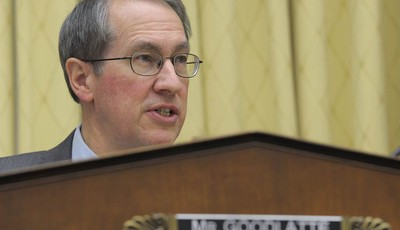 House Judiciary Committee Chairman Rep. Bob Goodlatte, R-Va., gives his opening remarks on Capitol Hill in Washington, Tuesday, Feb. 5, 2013, prior to the committee