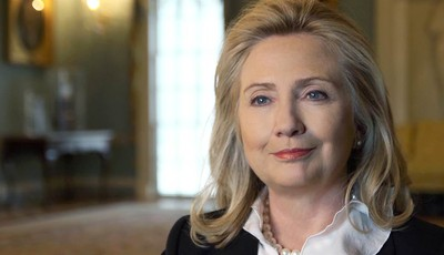 This undated publicity photo provided by PBS, courtesy of MAKERS, shows Hillary Clinton, first female major party presidential candidate and former U.S. Secretary of State, as well as a
