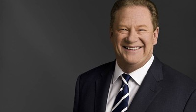 Ed Schultz of MSNBC is seen in an udated photo provided by MSNBC. Schultz is losing his prime-time show on MSNBC. The cable network says Schultz is being moved to the weekends, to host