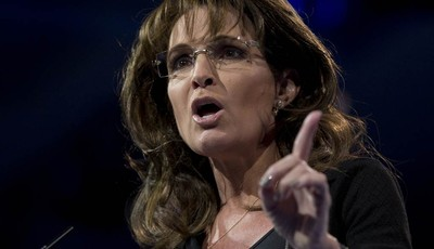 Former Alaska Gov. Sarah Palin speaks at the 40th annual Conservative Political Action Conference in National Harbor, Md., Saturday, March 16, 2013. Diehard activists at the three-day c