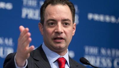 FILE - In this March 18, 2013 file photo, Republican National Committee (RNC) Chairman Reince Priebus speaks at the National Press Club in Washington. National Republican leaders made w