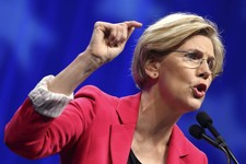 -                FILE - In this June 2, 2012 file photo, Massachusetts Democratic Senate candidate Elizabeth Warren speaks in Springfield, Mass. Liberals have groused about President Barack Obama since