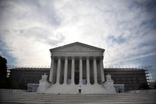 -                In this June 25, 2012, photo, the Supreme Court in Washington. Corporations and labor unions have been emboldened this election season to spend unlimited sums of cash. The Supreme Court