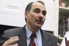 -                FILE - This Jan. 28, 2011, file photo shows David Axelrod, outgoing senior White House adviser to President Barack Obama, during an interview with the Associated Press at the White Hous