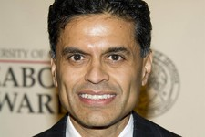 -                FILE - This May 21, 2012 file photo shows columnist and TV host Fareed Zakaria attending the 71st Annual Peabody Awards in New York. Zakaria is apologizing for lifting paragraphs by ano