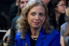 -                FILE - In this March 4, 2012 file photo, Democratic National Committee Chair, Rep. Debbie Wasserman Schultz, D-Fla. is seen at the Washington Convention Center in Washington. Democrats