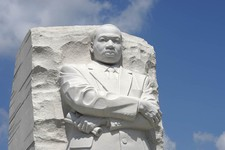 -                The Martin Luther King, Jr., Memorial in Washington, Tuesday, Aug. 28, 2012. A year after the Martin Luther King Jr. Memorial opened to visitors on the National Mall, the group behind t