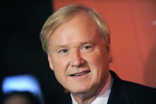 -                This May 5, 2009 photo shows Chris Matthews arriving at the Time 100 Gala, in New York.  In the cable television news world where provocation is prized, MSNBC's Chris Matthews took home