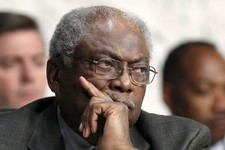 -                FILE - In this Sept. 13, 2012 file photo, House Assistant Minority Leader James Clyburn of S.C. listens on Capitol Hill in Washington. For decades, Southerners put a firm imprint on nat