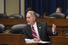 -                Rep. Trey Gowdy, R-SC, questions Inspector General Michael Horowitz, the Justice Department's internal watchdog, as he appears before the House Oversight and Government Reform Committee