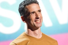 -                FILE - In this June 13, 2011 file photo, Dan Savage appears onstage at the 15th Annual Webby Awards in New York. TakePart TV, a brand-new YouTube channel launching Tuesday, Oct. 2, 2012