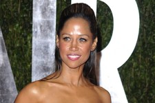 -                FILE - In this Sunday, March 7, 2010 file photo, Stacey Dash arrives at the Vanity Fair Oscar party in West Hollywood, Calif. Dash, who tweeted an endorsement of Romney,  was subjected