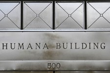 -                This  Monday, Aug. 8, 2011 photo, shows the entrance to the Humana building,  in Louisville, Ky.  Health insurer Humana Inc. said Monday, Nov. 5, 2012, that its third-quarter net income