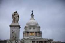 -                This Tuesday, Nov. 13, 2012, photo shows the Capital building in Washington. The federal government started the 2013 budget year with a $120 billion deficit, an indication that the U.S.