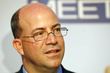 -                FILE - In this Wednesday, Nov. 14, 2007, file photo, Jeff Zucker, President and Chief Executive Officer of NBC Universal, is seen at the 60th anniversary celebration of NBC's Meet the P