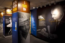 -                In this Dec. 11, 2012 photo, new exhibits about Lyndon Baines Johnson's presidency are displayed at the LBJ Presidential Library in Austin.  An insider's look at how Johnson delt with c